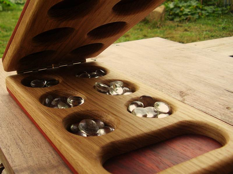 Teach Strategy And Patience With Mancala By Heartwood Natural Toys Gorgeous Homemade Wooden Board Games