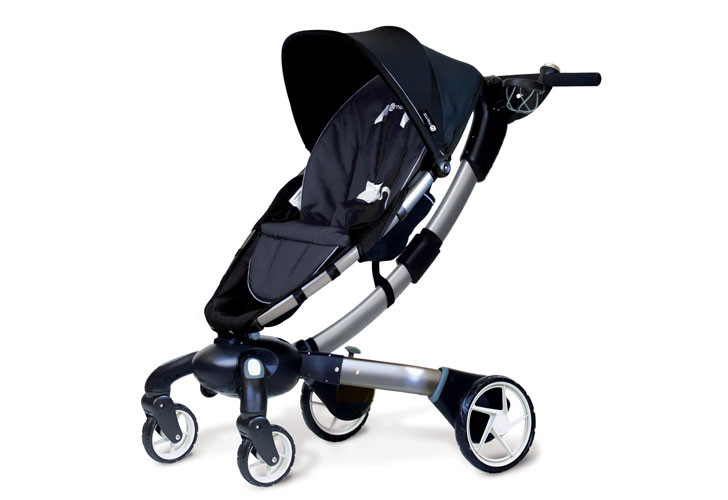 4moms powerfolding origami stroller charges as you walk