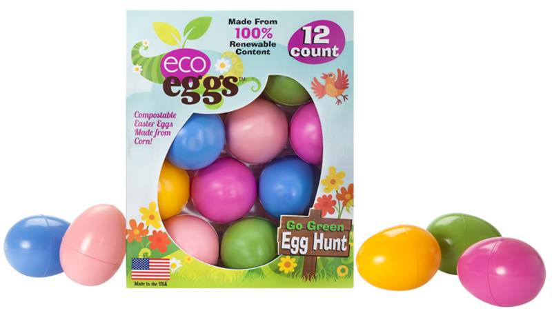 Compostable eco eggs easter eggs are made from plants inhabitots green holiday ideas for kids negle Gallery