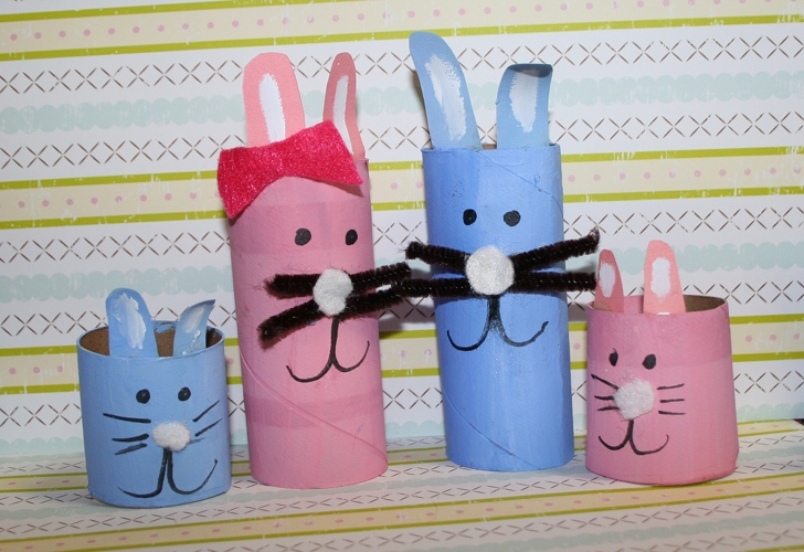 HOW TO Make Toilet Paper Roll Easter Bunnies