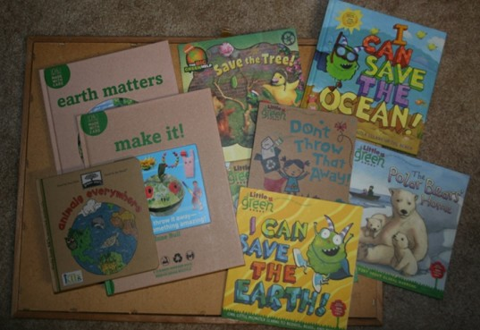 books to teach kids about the earth