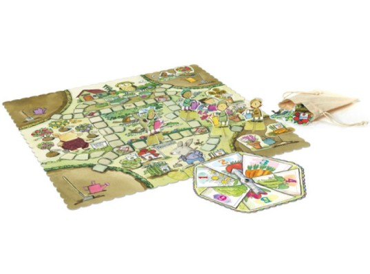 eeboo, gathering a garden, board games