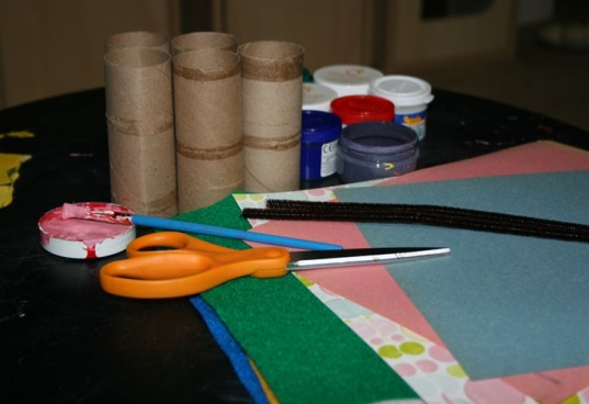 supplies for bunny craft, what you need to make easter bunnies, what you need to make easter bunny recycled craft