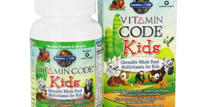 Garden of life vitamin code kids inhabitots - Garden of life vitamin code kids ...