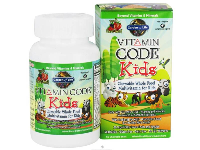 All natural vitamins for kids
