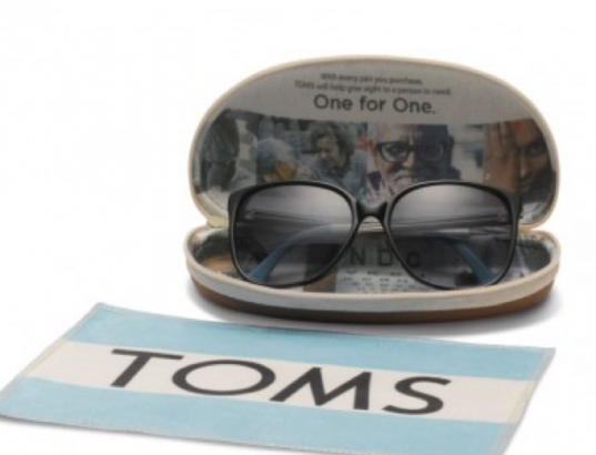 TOMS eyewear, TOMS sunglasses, mother's day, gifts that give back. one for one, eco by modo