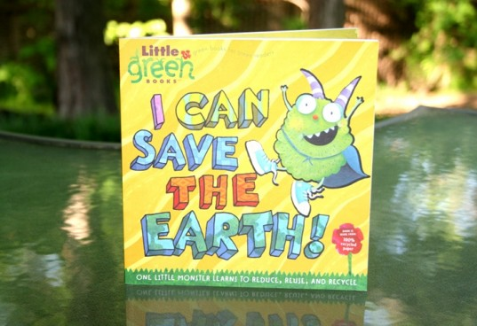 I can save the earth, green books, little green books, earth day books, earth book