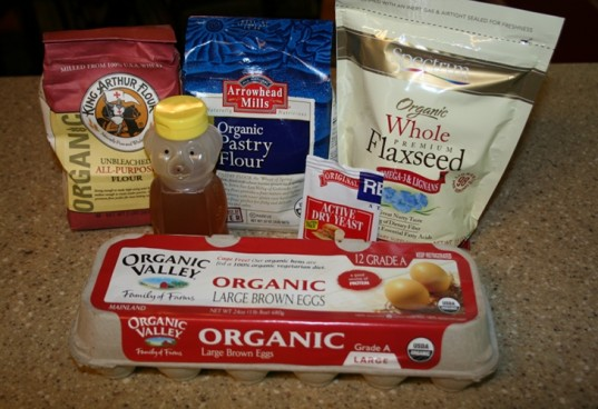 homemade bread ingredients, how to make organic bread, organic bread, organic honey bread, homemade bread