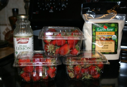 organic strawberry jam, how to make jam, organic jam, strawberry, jam ingredients