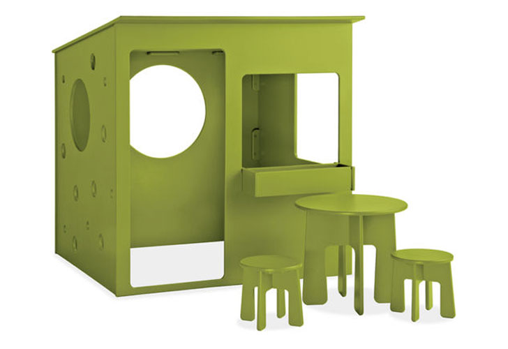 Loll Designs Loki Playhouse Is A Recycled Plastic Paradise For Kids |  Inhabitots
