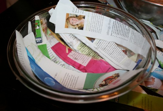 step 2 diy recycled paper bowl, recycled paper craft, diy paper bowl, how to make paper bowl