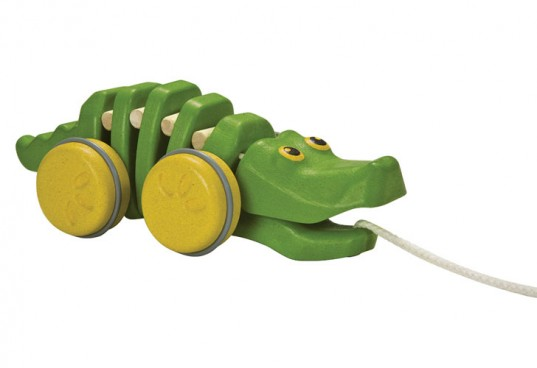 plantoys, best green toy company 2012, dancing alligator, plantoys dancing alligator, preschool toy, green toy