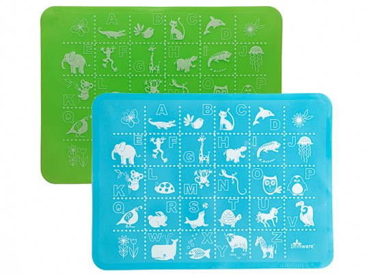Brinware, glass dishware for kids, glass dishes for toddlers, kid-friendly glass plates, glass plates with silicone sleeves, green kids, eco kids, green kids dishware, 100% silicone placemats for kids, brinware glass dishes, eco-friendly glass dishes for kids