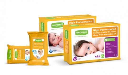 elements naturals, compostable baby diapers, compostable diapers, eco-friendly baby diapers, eco-friendly diapers, green diapers, green disposable diapers, elements naturals wipes, biodegradable diapers, earth friendly diapers, green baby, eco baby