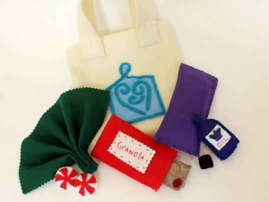 doula, doula play kit, doula play set, eco design for kids, eco kids, eco-friendly doula play set, felt doula play set, green design for kids, green kids, mama's felt cafe, older sibling gift