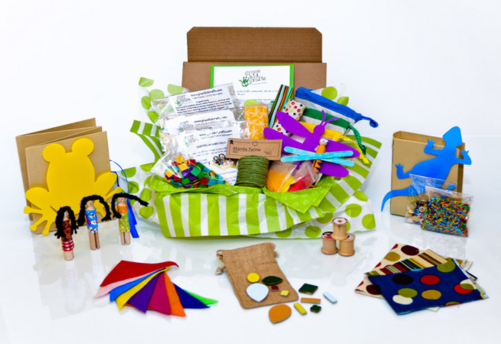 Monthly Green Kid Crafts Subscription Makes Art Projects Easy ...