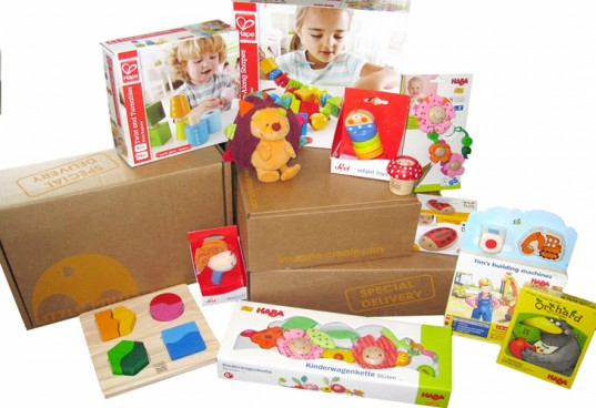 Little Pnuts, toys, eco-friendly toys, toy subscription