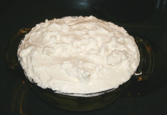 organic banana pudding, banana pudding, meringue