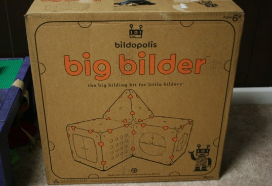 bildopolis, big bilder, cardboard box toy