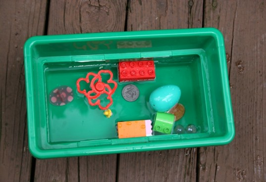 ice treasure chest, treasure chest, summer activity
