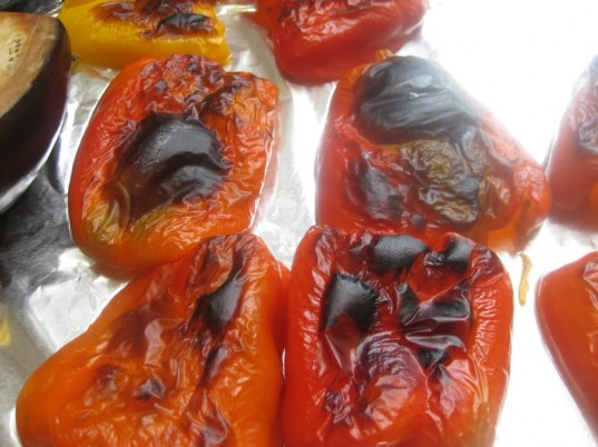 ajvar, healthy recipe, spread, red pepper and eggplant spread