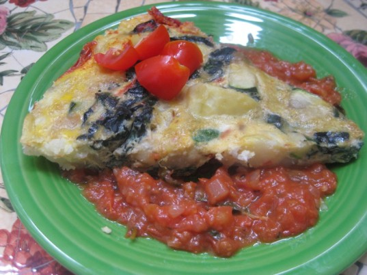 frittata, vegetarian recipe, healthy recipe, easy meals