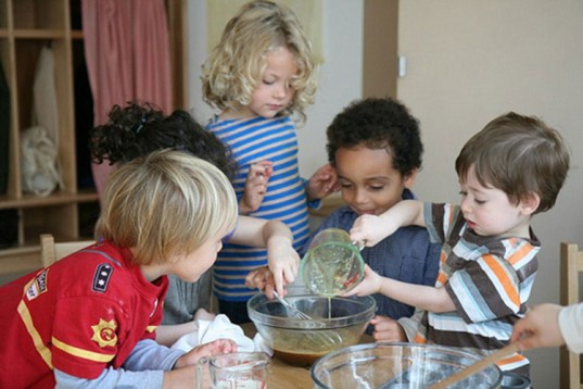 Kids Baking in a Waldorf Classroom, Waldorf education, steiner education, waldorf school, steiner school, rudolf steiner education, kids baking