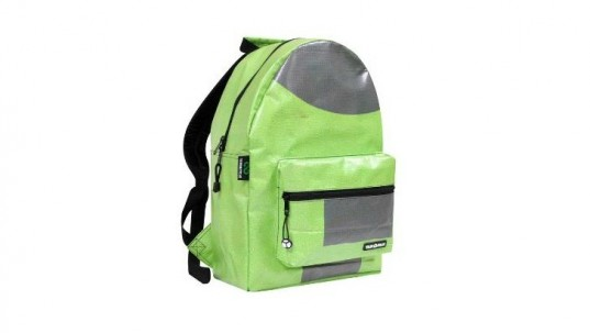 TerraCycle, Billboard Amped Laptop Backpack, laptop bags, kids backpacks, upcycled design, back to school, vinyl billboards