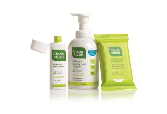 cleanwell, sanitizer, back to school