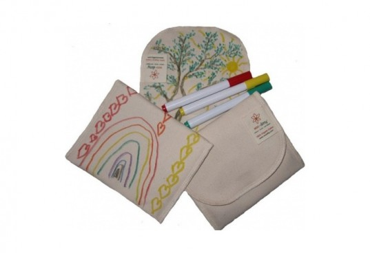 eco-ditty, color your own snack ditty, snack bag