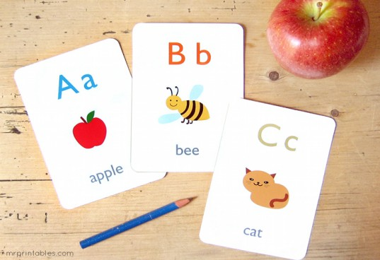 MrPrintables Free Educational Flashcards
