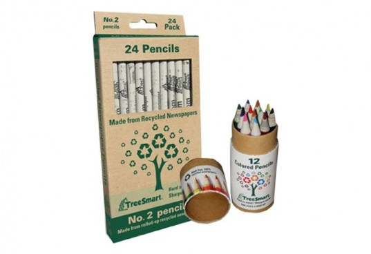 eco pencils, treesmart pencils, back to school