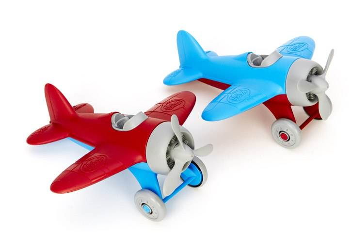 get ready for flying fun with eco friendly airplanes from green toys inhabitots