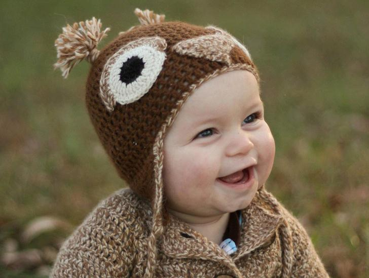 brown owl hat for baby inhabitots