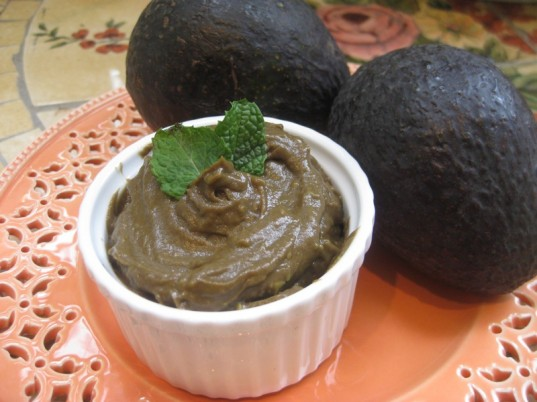 carob avocado breakfast pudding, healthy breakfast, kid friendly, recipe