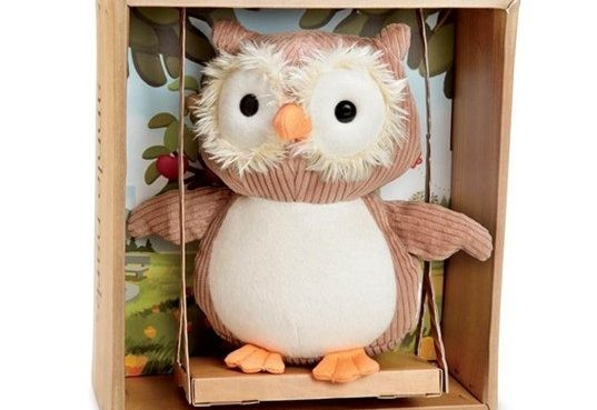 Organic Plush Toy 'Who the Owl' Joins The Apple Park Gang of Picnic Pals