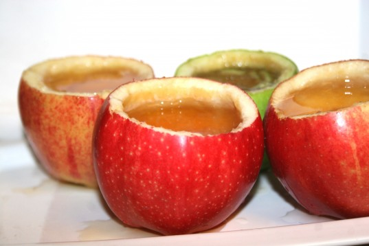 apple cider, organic apple cider, apple cups, apple cider in apple cup