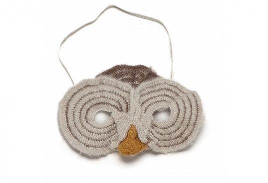 oeuf mask, owl mask, halloween costume mask