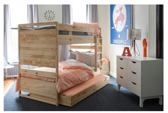 green design, green design for kids, green kids, eco kids furniture, affordable bunk bed, green bunk bed set, eco bunks