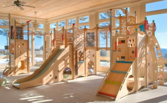 Indoor Playhouse Activity Center Inhabitots