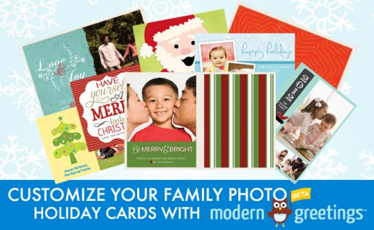 custom photo cards, holiday greeting cards, holiday photo cards, how to create customized photo greeting cards, modern greetings, moderngreetings.com, moderngreetings.com giveaway