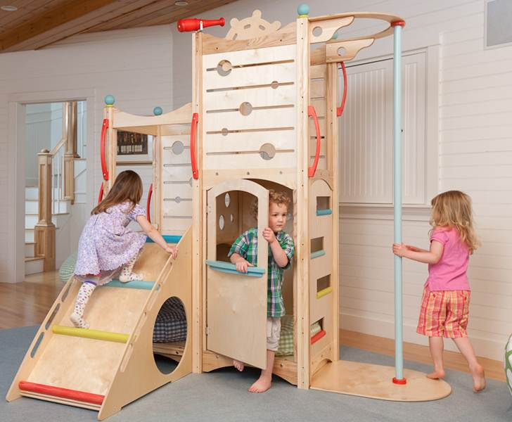 CedarWorks Rhapsody Indoor Playsets and Playhouses Bring Active ...