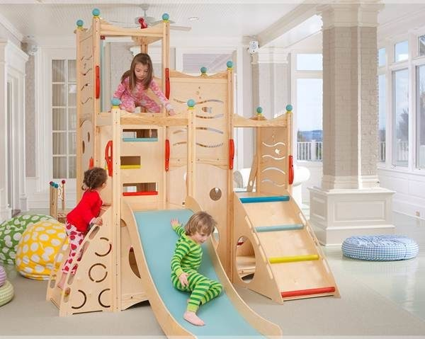 CedarWorks Rhapsody Indoor Playsets and Playhouses Bring Active Play ...