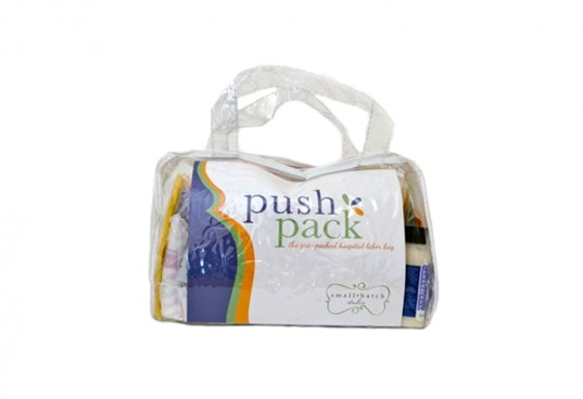 push pack, eco-friendly labor, take to the hospital
