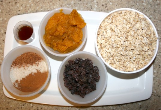 no bake pumpkin balls, organic pumpkin balls, ingredients for pumpkin balls