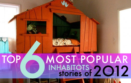 tops 6 best stories of 2012, inhabitots best stories 2012, top 2012 stories on inhabitots, treehouse beds, fruit infused water, valentine's day cards, recycled jar lava lamp, LEGO friends, LEGO, homemade popsicle recipes