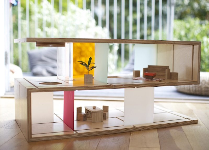 Qubis Haus Is A Coffee Table That Transforms Into A Dollhouse
