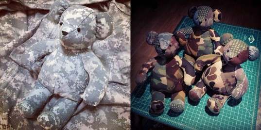 Nakane, Kumanokoido, teddy bears, toys, stuffed animals, Africa, Mali, traditional fabric, camouflage