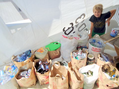10 Year-Old Boy Launches His Own Recycling Business, Donates 25% Of Profits To Homeless Children