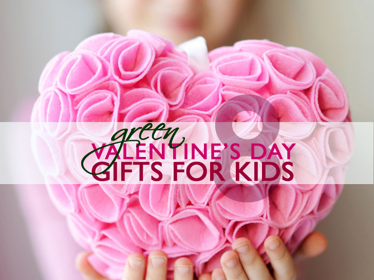 8 green valentines day gifts for babies kids inhabitots - Valentine Gifts For Children